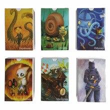 84 карты английские просто слово DIXIT карты; настольные игры семейные вечерние палубная карта игры многопользовательские настольные игры дети подарок высокое качество
