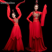c8d6c1af5 2019 new water sleeve dance clothes classical dance costume stage solo  performances performance female chinese wind