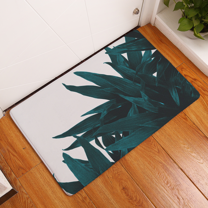 2017 New Fashion Creative Rugs Washable Personality Leaf Carpet Mats Bedroom Non Slip Floor Area Rug For Living Room