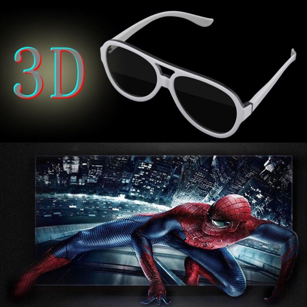 Universal gafas 3d polarizadas pasivas google cartón vr realidad virtual 3d pelí