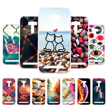 3D DIY Soft Silicone Case For Asus ZenFone Selfie Case Coque For Asus ZenFone Selfie ZD551KL Cover Painted Case Back Bag Fundas skinbox asus zenfone selfie zd551kl