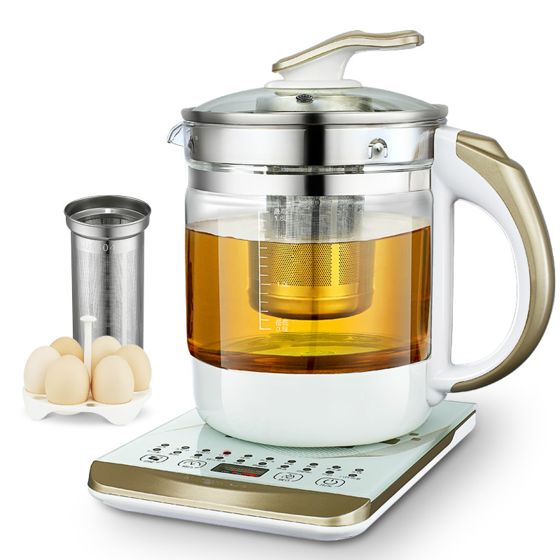 Electric kettle Curing pot Fully automatic and thickened glass multi-function electric tea, black tea split electric kettle curing pot tea black tea pu er fully automatic thickened glass multi function flower teapot