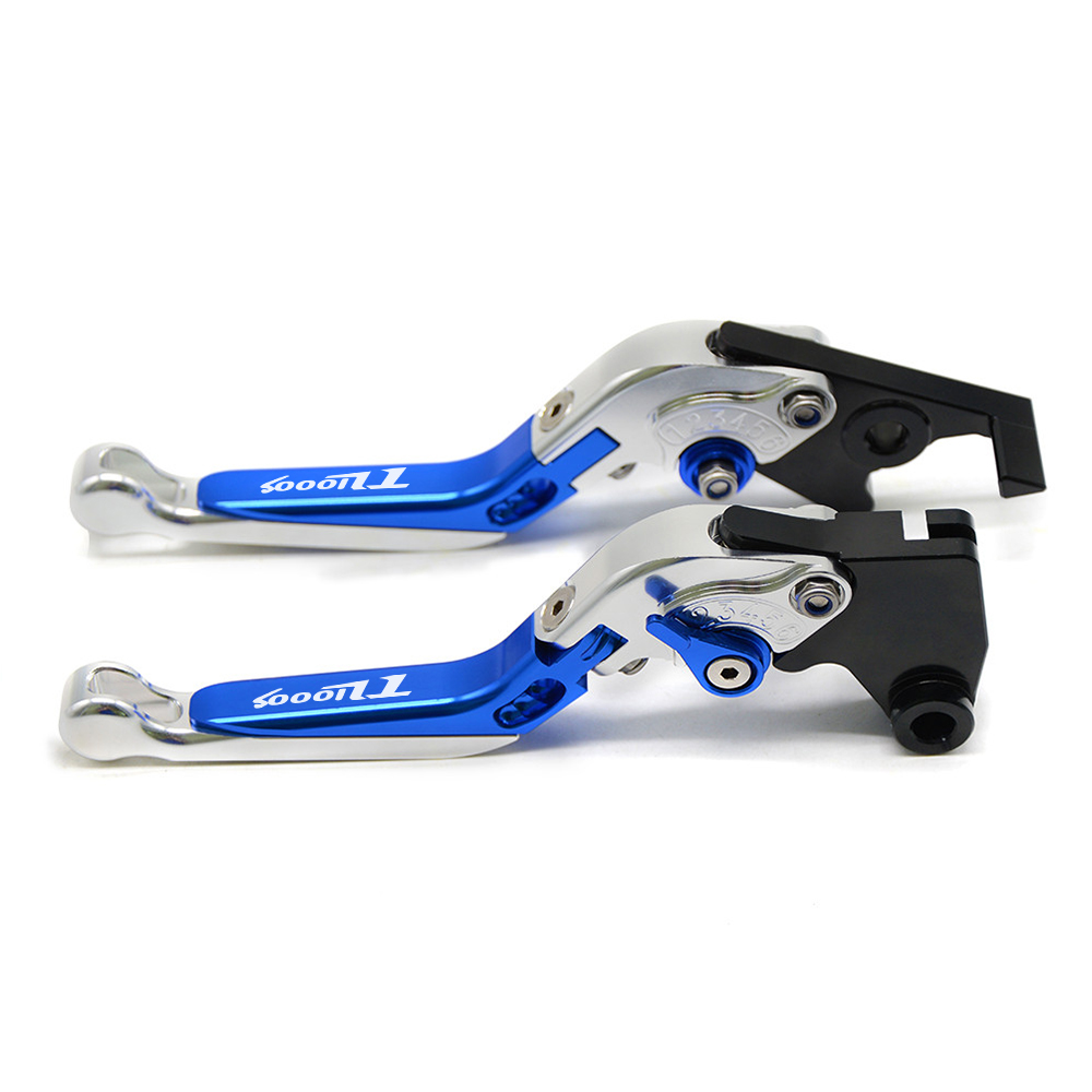 With TL1000S Motorcycle Clutch Brake Lever CNC Aluminum Extendable Adjustable Levers For Suzuki TL1000S 1997 1998 1999 2001 in Brake Shoe Sets from Automobiles Motorcycles