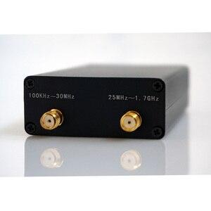 Image 1 - Любительский радиоприемник 100 кГц 1,7 ГГц полный диапазон UV HF RTL SDR USB тюнер RTLSDR USB адаптер с RTL2832u R820t2 RTL SDR приемником