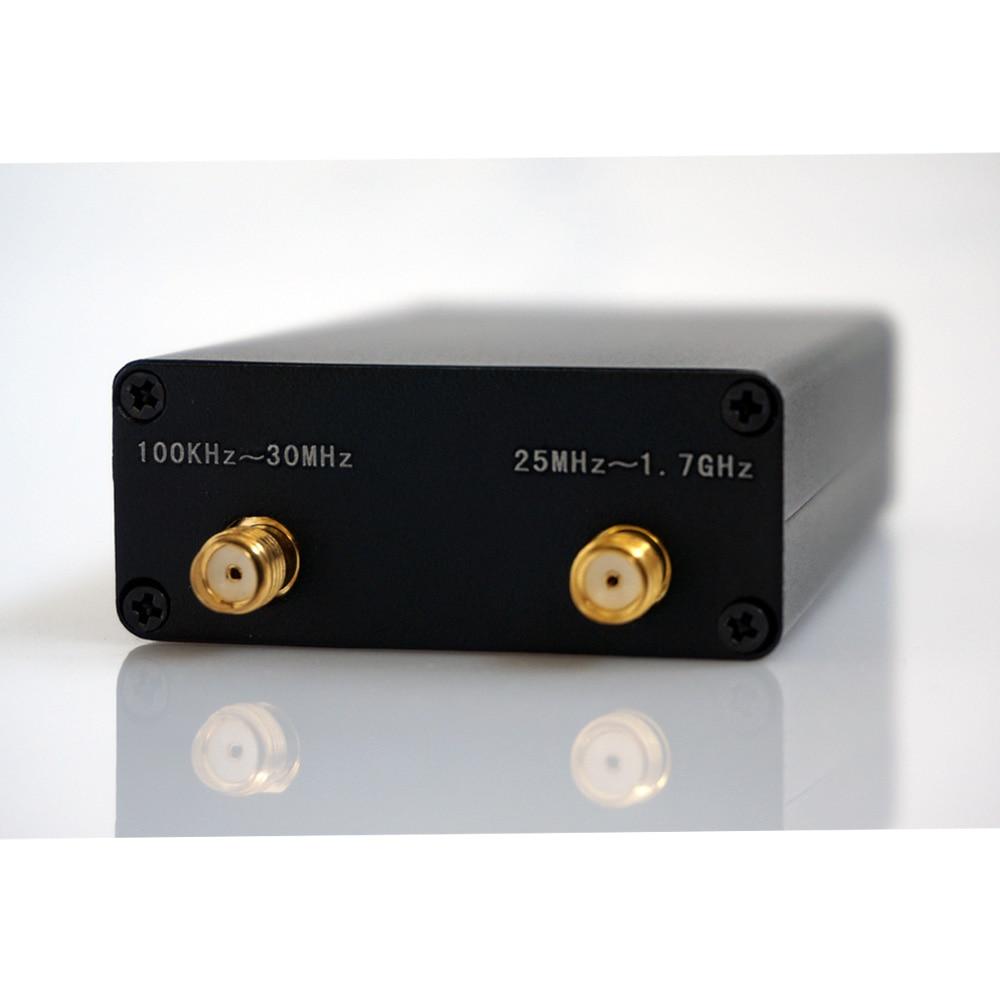 Receptor de rádio de ham 100khz-1.7ghz, tira completa uv hf RTL-SDR, sintonizador usb rtlsdr dongle com rtl2832u receptor rtl sdr r820t2