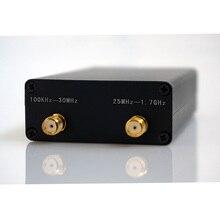 هام راديو استقبال 100 KHz 1.7 GHz كامل الفرقة الأشعة فوق البنفسجية HF RTL SDR USB موالف RTLSDR USB دونغل مع RTL2832u R820t2 RTL SDR استقبال