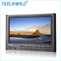 Feelworld 7 Inch IPS 1024x600 HDMI Camera Field Monitor with Peaking Focus Assist Check Field 4:3&16:9 Image Adjustable FW7D/O