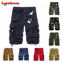 Men Short Pants Brand Clothing Comfortable Summer Hot Sale Camo Men Cargo Shorts Board Shorts Men Cool Camouflage Cotton Casual(China)