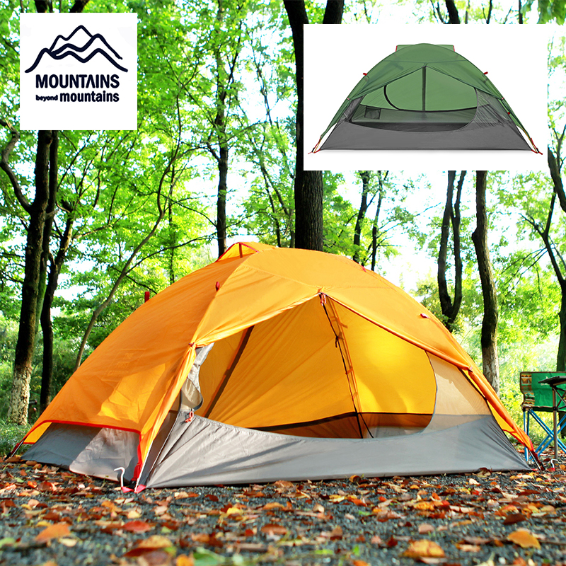 2 Person Tent Double Waterproof 3 Season Camping Tent Ultra Light 2 Colors2 Person Tent Double Waterproof 3 Season Camping Tent Ultra Light 2 Colors