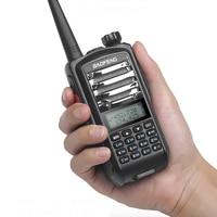 מכשיר הקשר ניו Baofeng UV9 מכשיר הקשר 5-8W צריכת חשמל גבוהה VHF UHF UV Dual Band נייד שני הדרך רדיו Push To Talk PTT עם פנס (4)