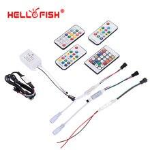 WS2811 WS2812B UCS1903 full Color pixel controller LED strip licht RF draadloze afstandsbediening IR DC USB controller