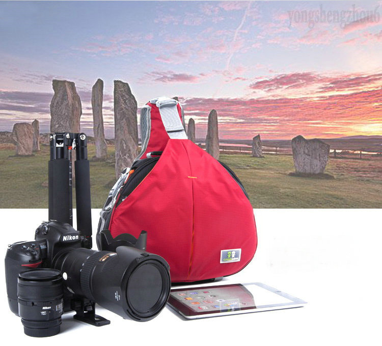 Waterproof Caseman AOS2-RED DSLR SLR Camera Case Bag For Nikon Canon Sony Fuji Pentax Olympus Leica Outdoor Bag Photograph Bag мойка воздуха aos w2055a