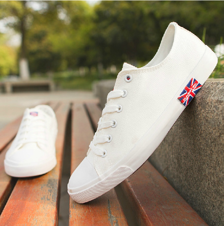 e98a758cb1c7cd New 2014 Autumn Pure white Canvas shoes mens sneakers Casual men's shoes  Brand Designer High/Low Male Flat Hells Shoes RM-332