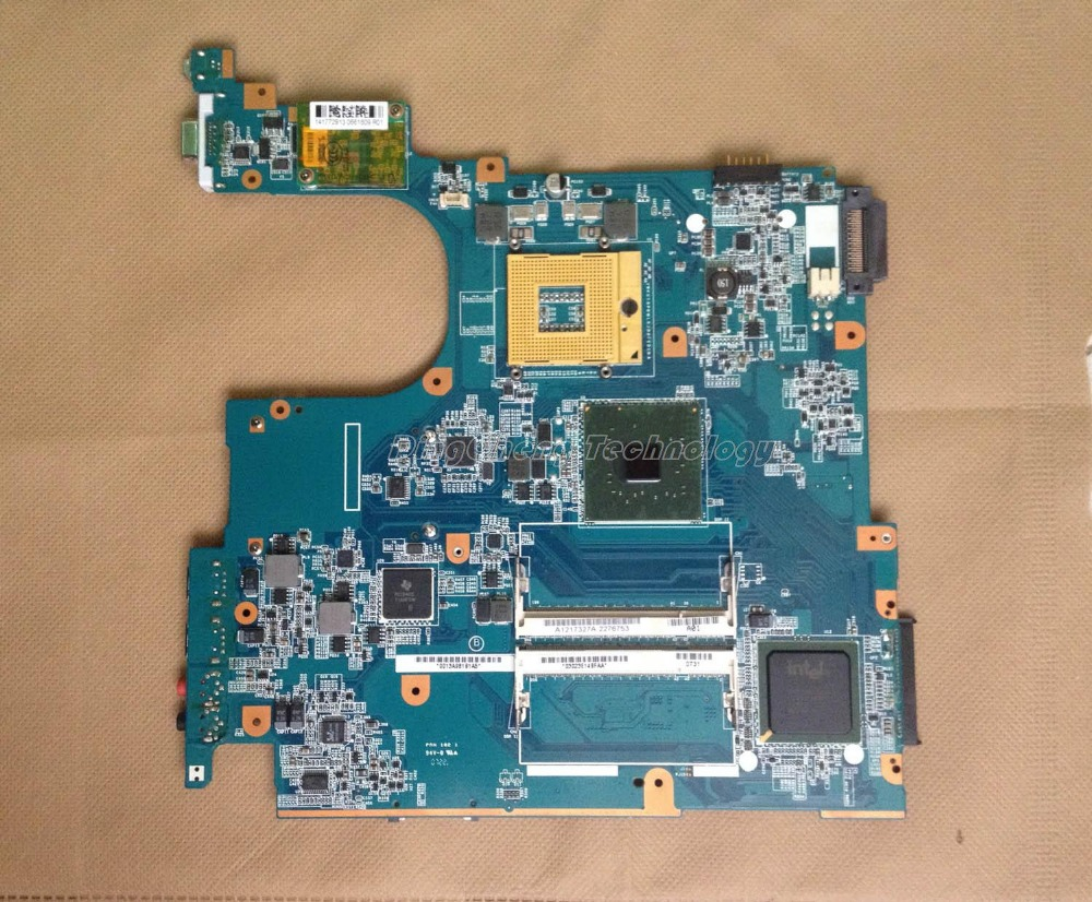 MBX 160 laptop Motherboard For Sony MS70 MBX-160 1P-0068100-6011 A1217327A for intel cpu with integrated graphics card
