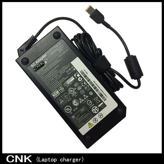 100% New Original 170W 20V 8.5A Square Tip Power Charger For Lenovo ThinkPad T540p T440p W540 Notebook AC Adapter ADL170NLC2A