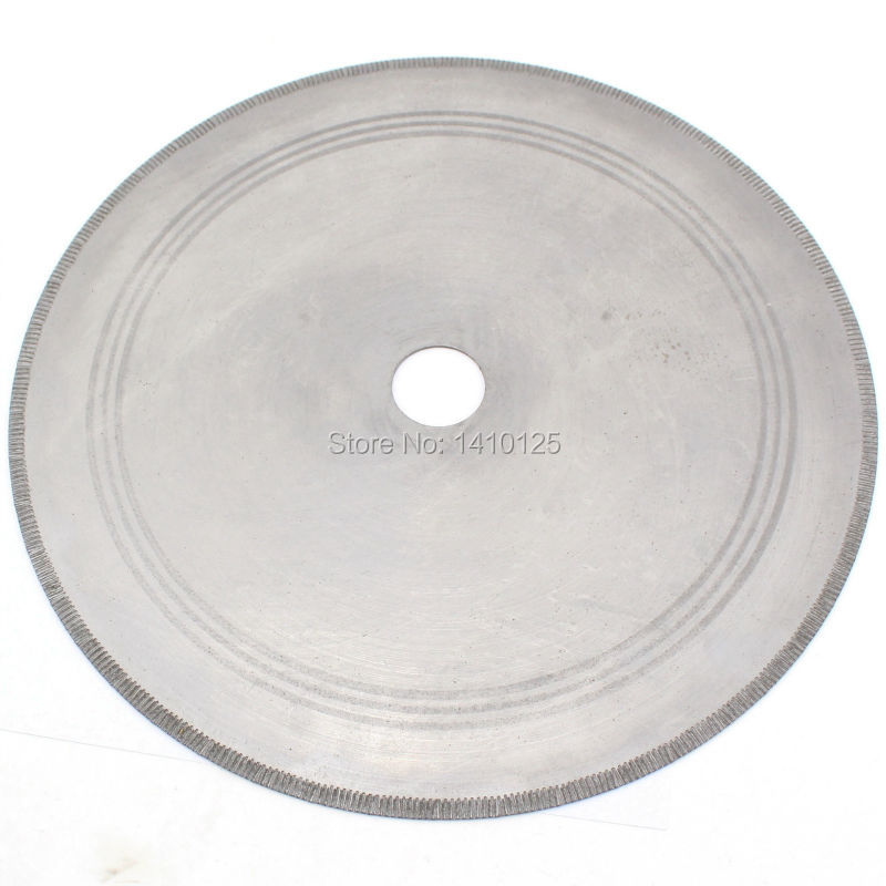 14 inch Notched Rim Thickness 0.05 Lapidary Diamond Saw Blade Rock Slab with Bushing 1 3/4 5/8 Tools for Stone Gemstone [ 0 5mm thickness] 4 100mm kerf ultra thin rim diamond resin bond saw blade free shipping save your materials and money