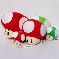 20 см жаба гриб фаршированные куклы плюшевые игрушки 7-дюймовый супер Марио грибы куклы для девочек подарки