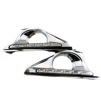 Car LED DRL Daytime Running Lights For Toyota Camry 2012 2013 High Bright White Daytime Lamps
