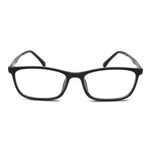 Image 4 - TR 90 プラスチック眼鏡フレーム男性ファッション光学近視処方クリアコンピュータ眼鏡フレーム X2005 フレーム眼鏡