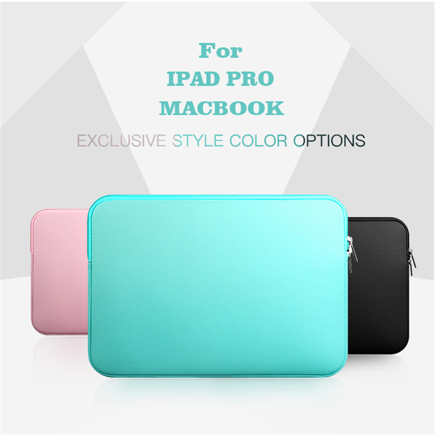 Protective Bag Cases For IPad Air Pro 11 12 13 14 15 Inch Business Pocket Sleeve Felt Computer Package Soft TPU Cases