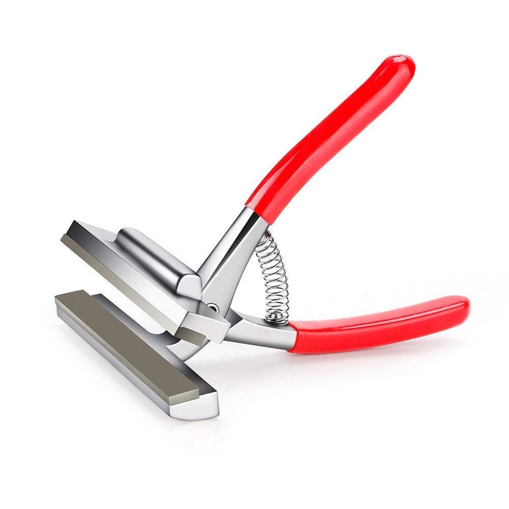Щипцы для растяжки холста Arrtx, пружинная ручка для растягивания брусков, инструмент для обрамления художников, Красная рукоятка, ширина 12 см