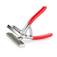 Arrtx liga lona esticando alicates primavera alça para maca barras artista ferramenta de enquadramento 12 cm largura haste vermelha pintura a óleo ferramenta