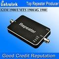 HOT 3G 20dBm UMTS 1900 MHz 65dbi Amplificador Boosters de Telefone Celular Mini GSM 1900 mhz Celular Repetidor de Sinal de Luzes LED Com ALC S12