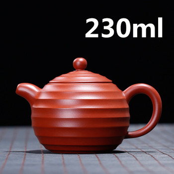 Teapot Ceramic Chinese Yixing Clay Teapot Gongfu Tea Set Ceramic 230ml New Arrived High Quality With Gift Box Safe Packagin