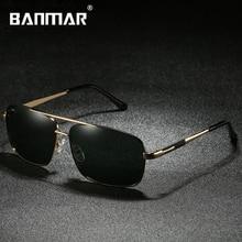 BANMAR New Fashion Polarized Sunglasses Men Oculos De Sol Masculino Sunglasses Male Lunette Soleil Homme Sun Glasses For Women