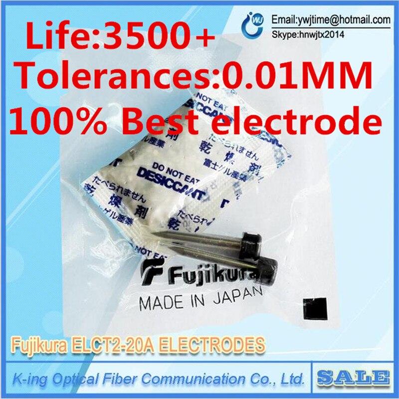 Original Fujikura ELCT2 20A electrodes FSM 50S FSM 60S FSM70S fsm 80S fsm 62S FSM60s FSM80s