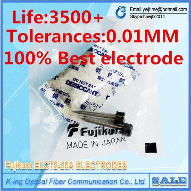 Original Fujikura ELCT2-20A electrodes FSM-50S FSM-60S FSM70S fsm-80S fsm-62S FSM60s FSM80s Fiber Fusion Splicer electrode rod