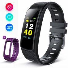 KENCOOL фитнес-трекер цветной экран, i6HRC Смарт-часы трекер активности с монитором сердечного ритма, монитор сна