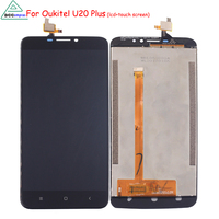 LCD Display For Oukitel U20 Plus Screen LCD Touch Screen Digitizer Mobile Phone LCD For