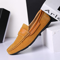 2017 New Spring Autumn Summer Fashion Casual Brands Men Shoes Slip-up Flats Round Toe Solid Oxford Shoes Wear SIZE 39-44
