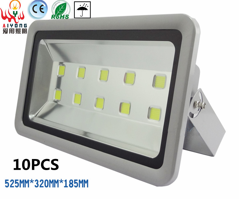 430W energy saving outdoor waterproof led floodlights spotlights stadium tall plant hanging lamp LED advertising lamp door