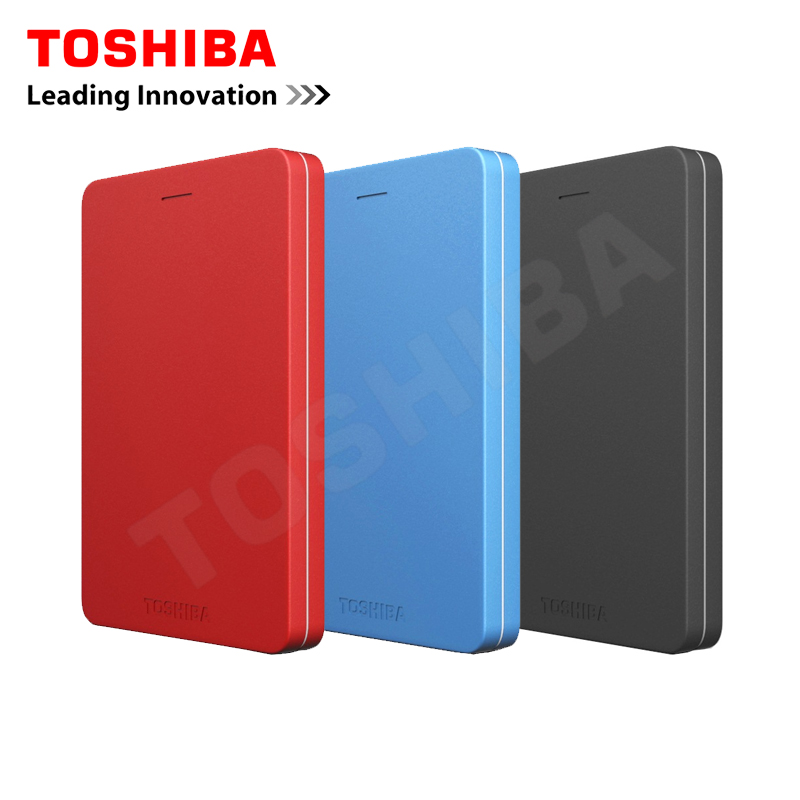 Toshiba Canvio Alumy USB 3 0 2 5 500G 1TB 2TB External Portable Hard Drives HDD