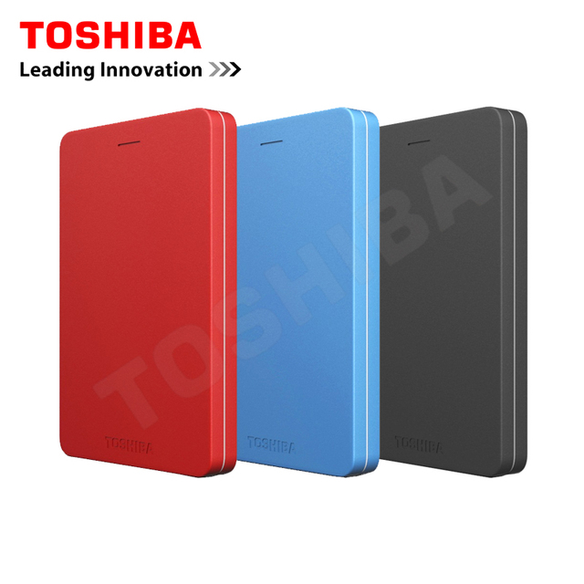 """Toshiba Canvio Alumy USB 3.0 2.5 """"500 Г/1 ТБ/2 ТБ Внешний Портативных Жестких Дисков HDD Жесткий Диск Disque мажор Externe2 для Рабочего Стола ноутбук"""