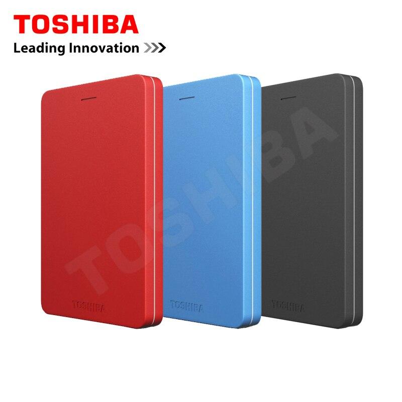 """Toshiba Canvio alumy USB 3.0 2.5 """"500 г/1 ТБ/2 ТБ внешний Портативный жесткие диски HDD жесткий диск disque мажор externe2 для рабочего стола ноутбука"""