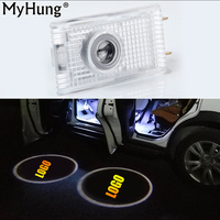 LED Car Door Projector Logo Emblem Laser Shadow Welcome Light For Opel Insignia The Lighting In