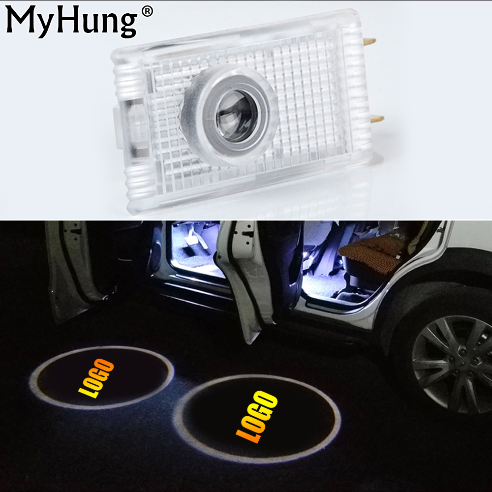 LED Car Door Projector Logo Emblem Laser Shadow Welcome Light For Opel Insignia The Lighting In The Door Car Styling 2 Pcs smart home uk standard gold crystal glass panel touch switch wireless remote switch 1 gang 1 way light touch switch wall switch