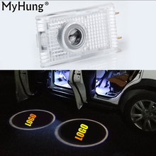 LED Car Door Projector Logo Emblem Laser Shadow Welcome Light For Opel Insignia The Lighting In The Door Car Styling 2 Pcs