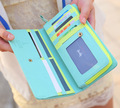 Brand New 2015 Fashion Dove Woman Long Design Purses PU Multi-Card Position Women's Wallets Billeteras Carteira Portefeuille