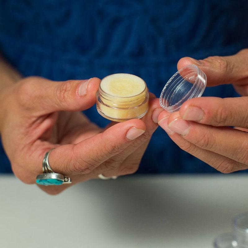 100pcs 2g/3g/5g/10g/15g/20g Empty Plastic Cosmetic Makeup Jar Pots Transparent Sample Bottles Eyeshadow Cream Lip Balm Container-3