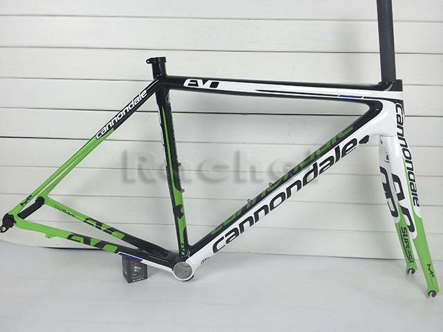road bike carbon road frame supersix evo bicycle frameset white ...