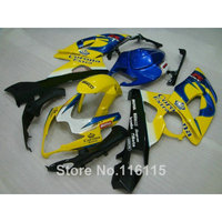 100 New Fairing Kit Fit For SUZUKI Injection Molding K5 K6 GSXR 1000 2005 2006 Yellow