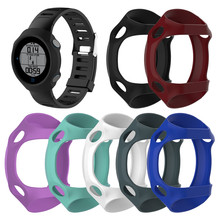 Genuine Silicone Protective Skin Cover Case for Garmin forerunner 610 Protective Case Shell 7 Colors SmartWatch Accessories все цены