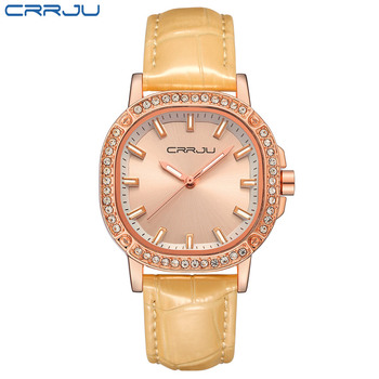 Brand Women Watches Women Genuine Leather Square reloj mujer Luxury Dress Watch Ladies Quartz Rose Gold Wrist Watch Montre Femme дамски часовници розово злато