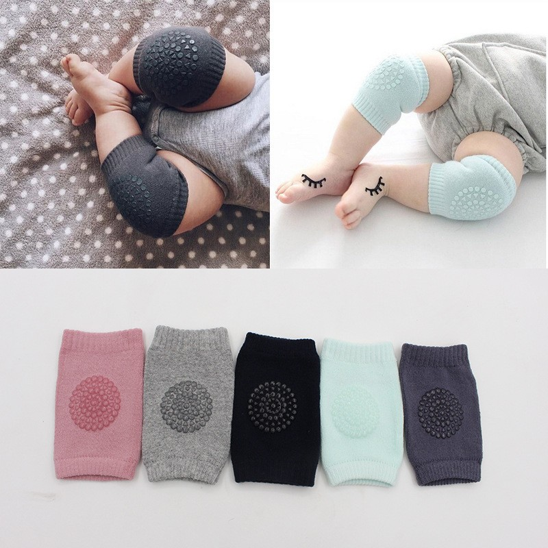 Baby Knee Pads Protector Kids Safety Crawling Elbow and Knee Protective for Infants Toddlers Baby