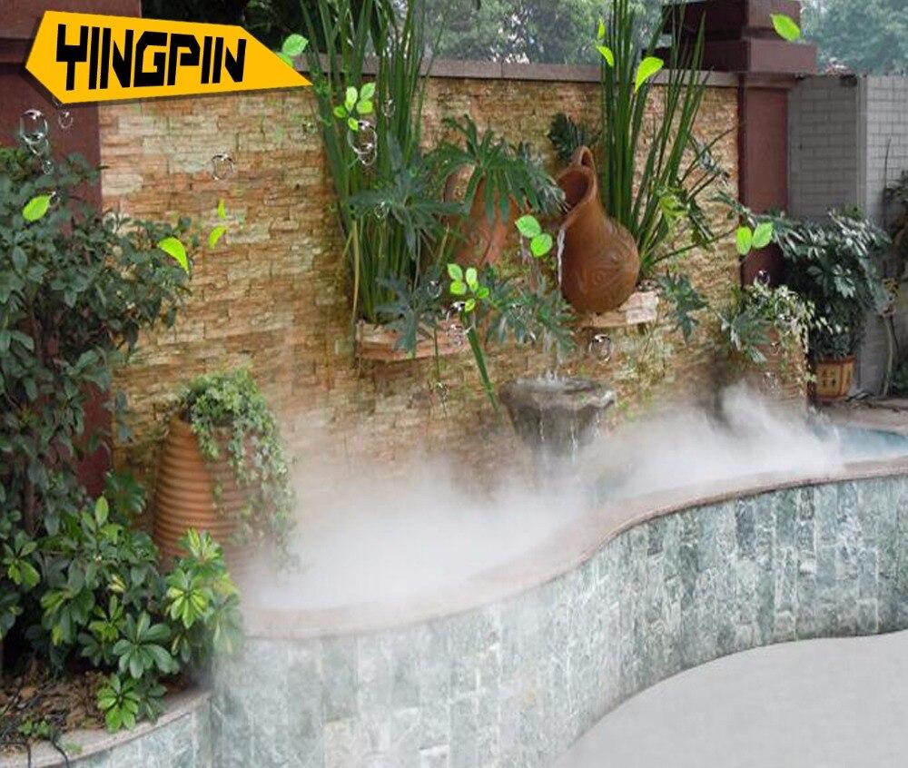 Sistema di raffreddamento a nebbia, a spruzzo sistema di nebbia per aeroponic, paesaggio spruzzo di raffreddamento umidificazione spray nebbia-in Spruzzatori da Casa e giardino su  Gruppo 1
