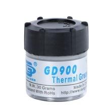 N.W. 30กรัมสีเทาGD900ระบายความร้อนผสมความร้อนจาระบีวาง